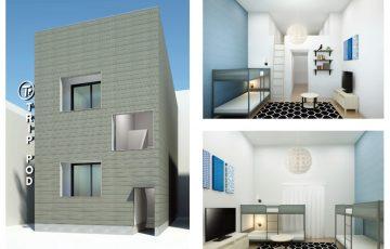 投資用民泊アパートイメージ