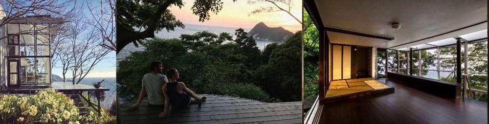 静岡県南伊豆町「国立公園内の秘境にある絶景・モダニズム建築」