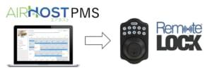 RemoteLOCK×Airhost PMS