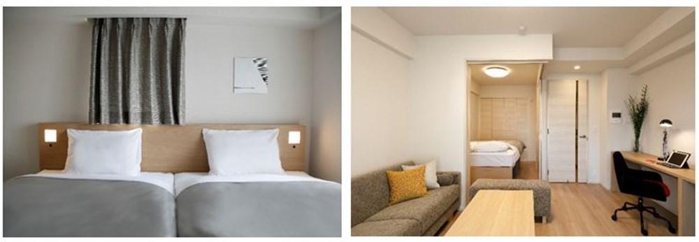 ビュロー渋谷寝室