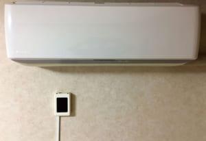 エアコンの見張り番取り付けイメージ