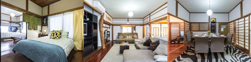 物件②:新宿からほど近い2階建ての一軒家まるごと貸切★★Samurai House★ご家族に最適!