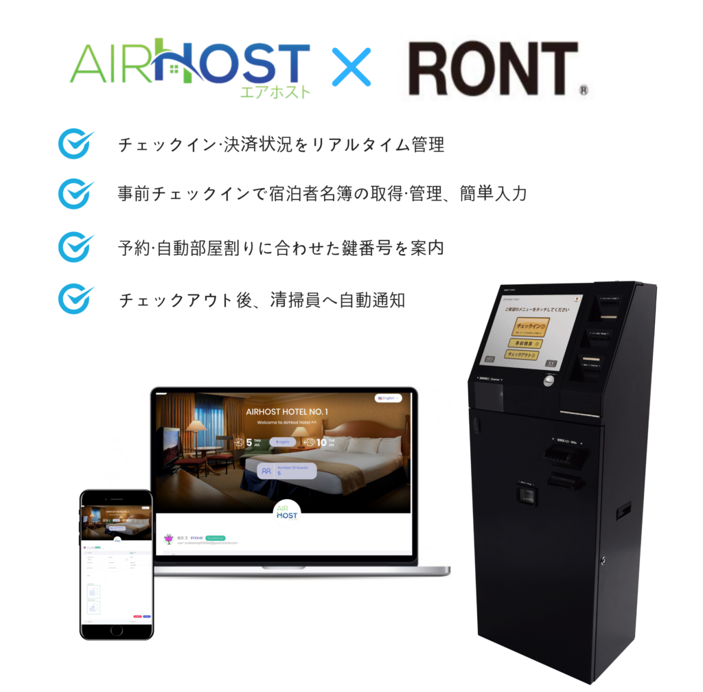 AirHost PMS × RONT