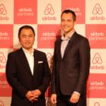 Airbnb プレスカンファレンス