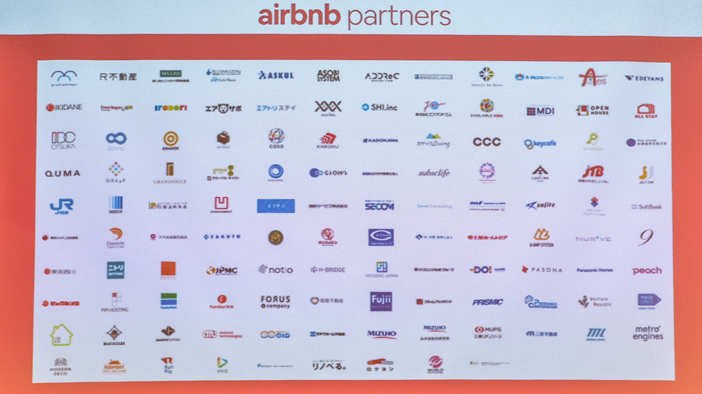 Airbnb Partners 117社