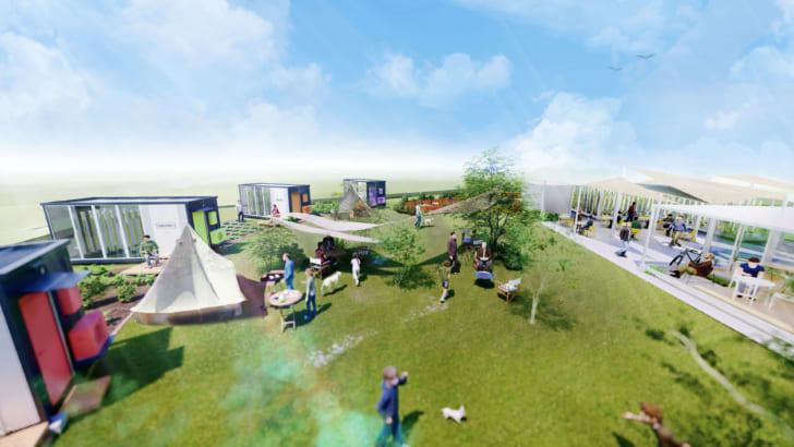 DMM.com、グリーンリバーホールディングスとアグリワーケーション施設の運用を開始