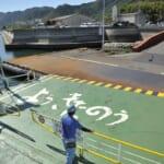 生口島からお隣の島岩城島へのフェリー乗り場