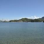 生口島南岸からの眺め