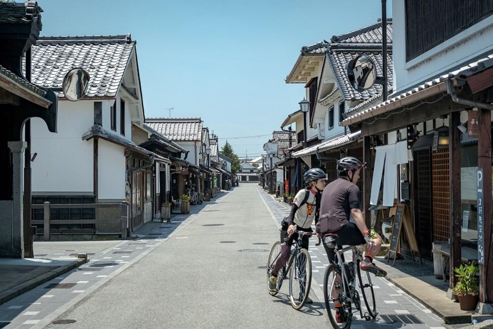 丹波篠山の歴史を巡る70kmコース/河原町妻入商家群